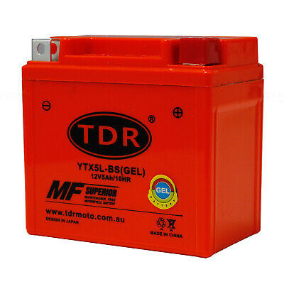 AU28.50 • Buy YTX5L-BS YTX5LBS Motorcycle Battery For KTM 250cc EXF 2005 - 2010