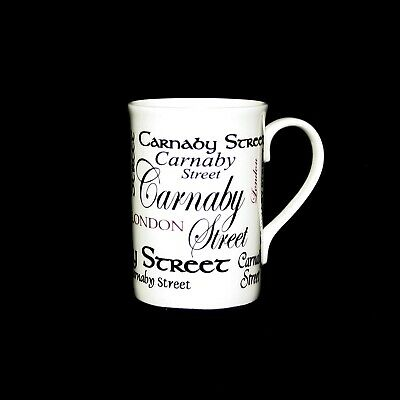 PL: Carnaby Street, London Fine Bone China Mug Gift By Foley Pottery  • 15.95£