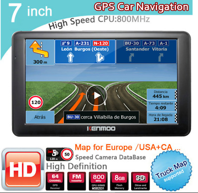 GPS portátiles para coches Map Update Europe Wow TomTom