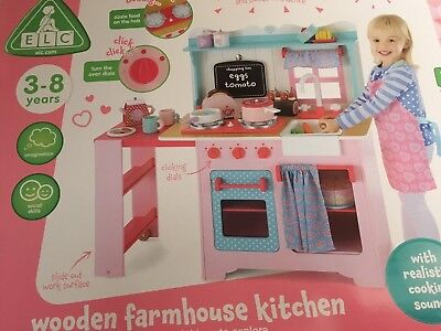 £125 • Buy Early Learning Centre ELC Wooden Farmhouse Kitchen - Brand New