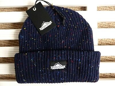 PENFIELD USA Chunky NAVY Beanie Hat - Super Comfy & Warm - One Size - Toque NEW • 29.50£