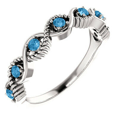 $50 • Buy Stackable Ring 7 Stones Sterling Silver, Mothers Day Rings Jewelry