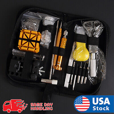 $ CDN24.04 • Buy 148 Pcs Pro Watch Case Opener Link Pin Remover Screwdriver Repair Tools Kit Set