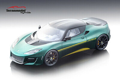 $ CDN364.89 • Buy 2017 Lotus Evora 410  In Metalic Green 1:18 Scale By Tecnomodel