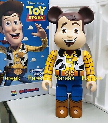 $3199.99 • Buy Medicom 2019 Be@rbrick Disney Toy Story 1000% Woody Cowboy Bearbrick 1pc