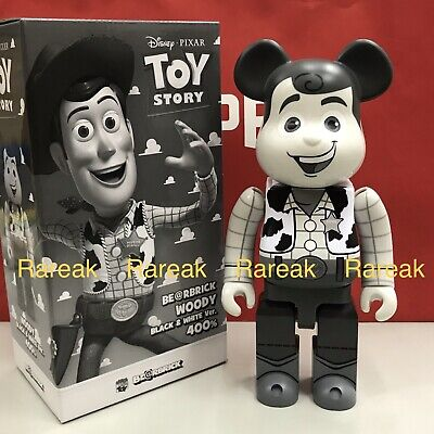 $348.99 • Buy Medicom 2019 Be@rbrick Disney Toy Story 400% Woody Cowboy Mono Ver. Bearbrick