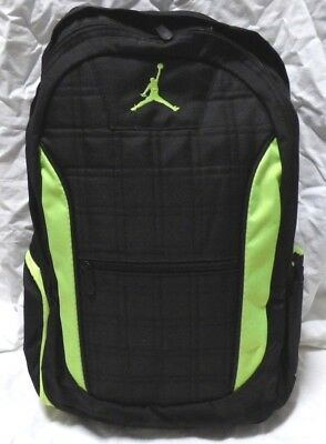 3c5c61c1a0a299 New Nike Air Jordan Jumpman Gym Backpack Laptop Bag Black Msrp  50 Nwt •  32.99