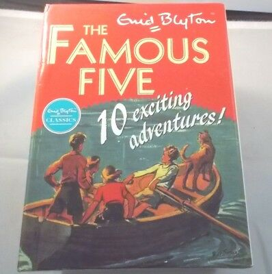 The Famous Five 10 Book Box Set 10 Exciting Adventures Paperback Enid Blyton • 19.99£