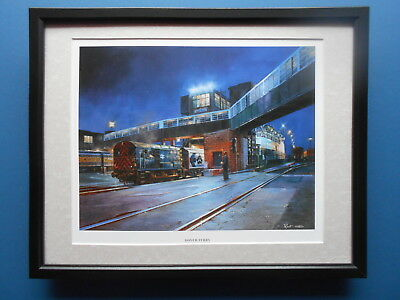£27.50 • Buy Malcolm Root Steam Train Print 'Dover Ferry' FRAMED