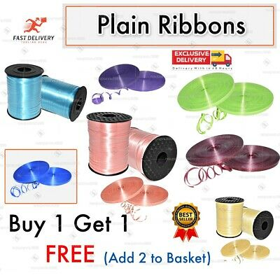 £1.95 • Buy 50 M Curling  Balloons Ribbons SALE Gift Wrapping String Tie Ribbon Balloon Roll