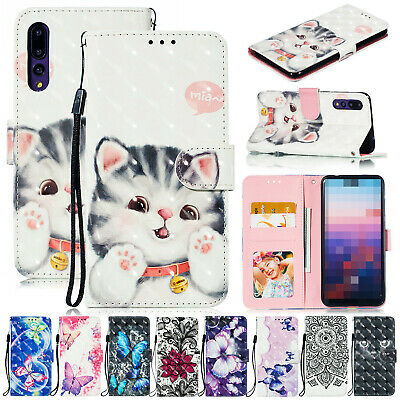 AU17.99 • Buy For IPhone 6 7 8+ XS Max XR XS Patterned Flip Leather Wallet Stand Case Cover