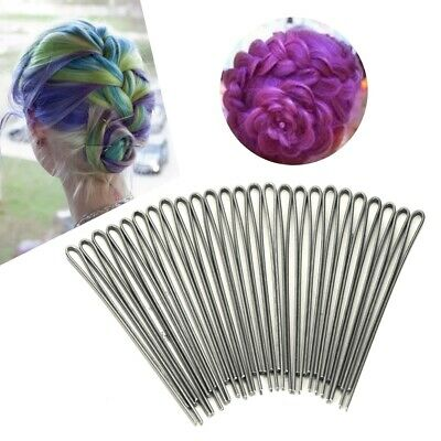 Black Invisible Hair Styling Pins Grips Clips Wave Flat Salon Styling  Barrette • 4.36£
