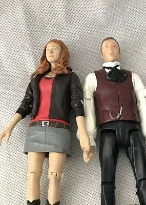 DR DOCTOR WHO AMY POND 1st ISSUE ACTION FIGURE & Simm Utopia • 8.99£