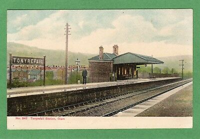 Tonyrefail Railway Station Nr Pontypridd Pc  Used Harding Regal Ref H513 • 28.50£