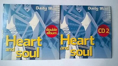 £2.69 • Buy Heart And Soul 2 Disc CD Set (Daily Mail) Percy Sledge Diana Ross Marvin Gaye