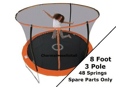 £9.99 • Buy NEW PARTS For Sportspower 8 Ft Trampoline (3-pole) - Orange And Black