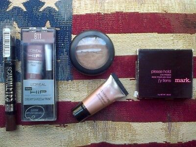 MAC Richmetal La Mode Highlighter, Covergirl/HIP/Rimmel Eyeshadows & Mark Primer • 41.50£