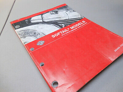 $22.50 • Buy Oem Harley 2010 Softail Fl Fx Models Parts Catalog Factory Printed Fiche Manual