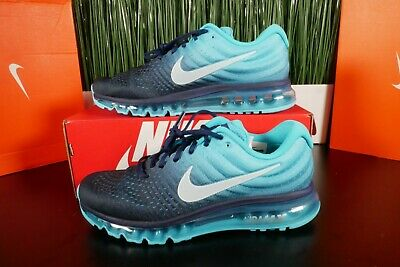 Nike Air Max 2017 Men's Running Shoes Binary Glacier Blue 849559-404 Multi Size • 129.99$