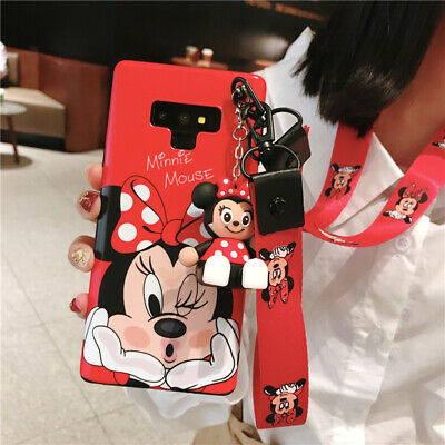 AU11.68 • Buy Cute Disney Doll Stand 2 Straps Soft Case Cover For IPhone 11 Pro Max XS 6S 7 8+