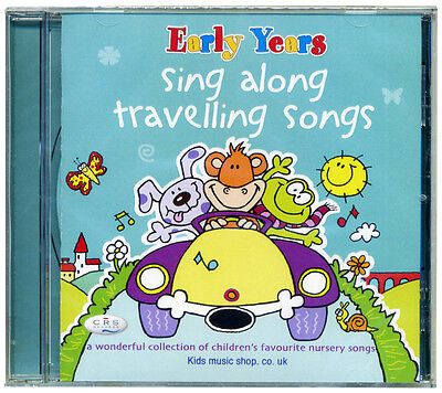 Sing Along Travelling Songs CD. Children's Favourite Nursery Songs NEW & WRAPPED • 4.99£