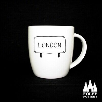 MT: London, Street Sign Fine Bone China Mug By Foley Pottery  • 16.95£