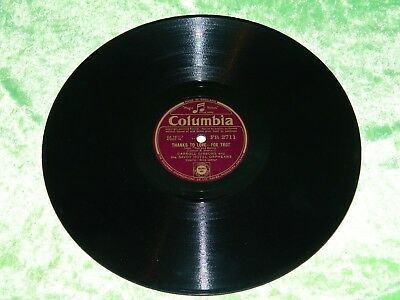 CARROLL GIBBONS And SAVOY HOTEL ORPHEANS : Thanks To Love - UK C.1942 78rpm 182 • 2.90£