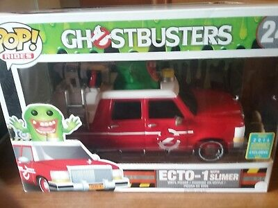 Funko Pop! Ecto-1 With Slimer Ride From Ghostbusters #24 Exclusive! • 50£