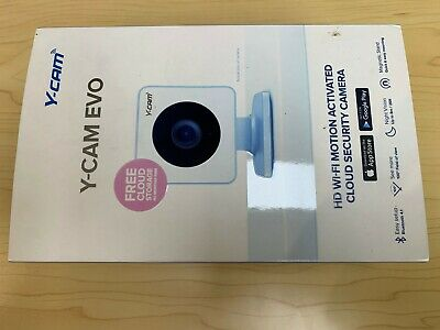 Y-cam EVO Indoor HD Wi-Fi Security Camera Brand New And Boxed • 95£