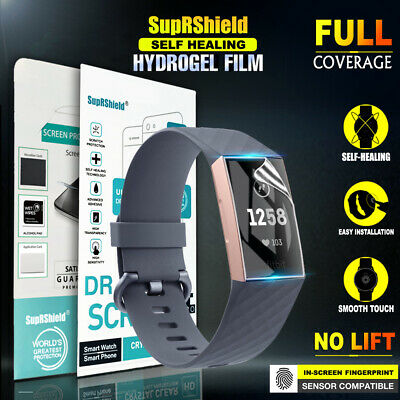 AU4.99 • Buy 3x For Fitbit Charge 3 /2 Compact Full Cover Waterproof Screen Protector Guard
