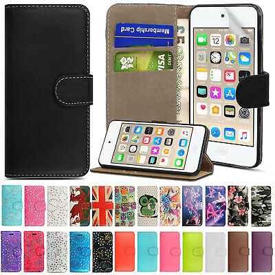 For Apple IPod Touch 5th 6th 7th Generation Flip Wallet Leather Stand Case Cover • 1.99£
