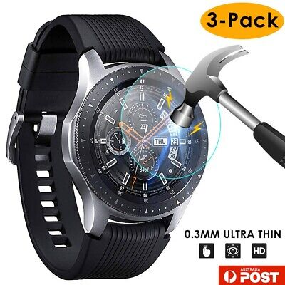 AU6.99 • Buy 3xPACK Genuine Samsung Galaxy Watch 42/46mm 9H Tempered Glass Screen Protector