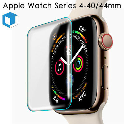 $ CDN2.59 • Buy For Apple Watch Series 4 3 2 38-44MM Full Cover Tempered Glass Screen Protector