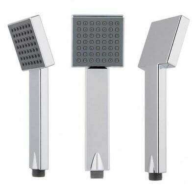 GROHE REPLACEMENT HANDSET • SQUARE Shower Head In Chrome • Single Function • 10.95£