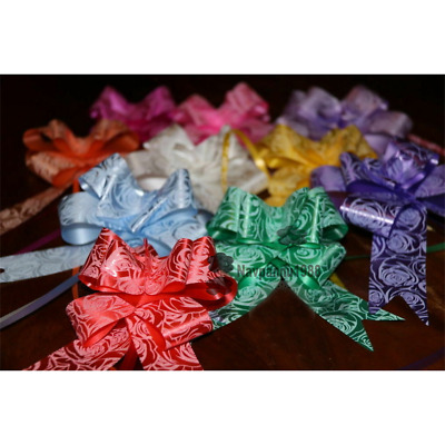 30mm Pull Bows Gift Wrapping Weddings Hampers Floristry Bow Ribbon • 3.19£