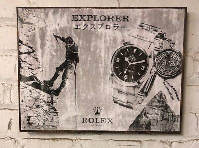 $ CDN74.66 • Buy Role X Explorer Vintage Ad   Distressed Design For Home Decor Style  1016 14270