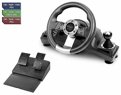 $530.53 • Buy Racing Steering Wheel Shifter Pedal Set For Playstation 4 PS4 Pro Xbox One S PS3