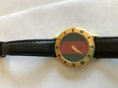 c96b2574129 Authentic Vintage Women s Gucci Watch Red And Green • 26.00
