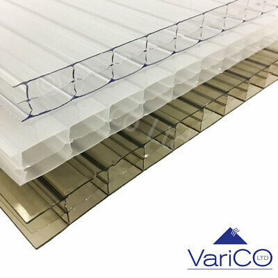 10mm Polycarbonate Roofing Sheets & 16mm Polycarbonate Sheets Various Sizes • 172.46£