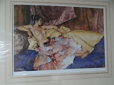Model For Elegance By Russell Flint Ltd Edition Excellent Condition Unframed • 220£