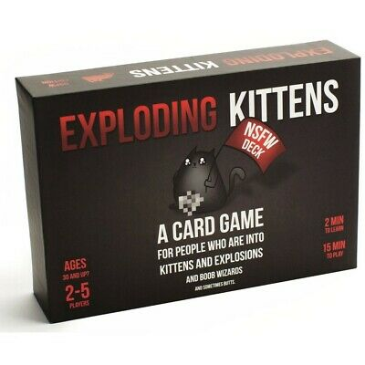 AU39 • Buy Exploding Kittens NSFW Card Game