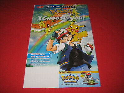 $4.05 • Buy Free Comic Book Day 2019 - Pokemon The Movie I Choose You