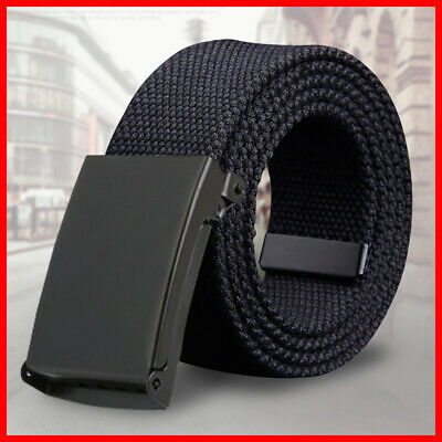 Buckle Quick-Release Outdoor Army Belt Duty Rigger Metal Tactical Heavy Military • 4.95£