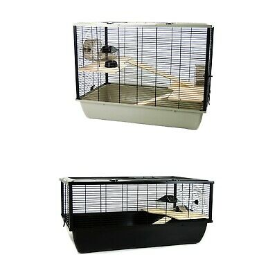 Hamster Rat Mouse Cage Brand New Wooden Ladder - Single And Two Platforms • 67.32£