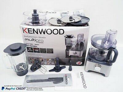 View Details ✨ Kenwood Multipro Classic Food Processor FDM790BA With Digital Scales 1000W ✨ • 109.00£