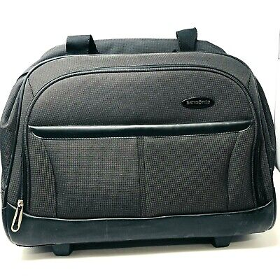 468a845782f1 Samsonite Wheeled Briefcase Rolling CarryOn Luggage Bag Air Travel  Overnight Bag • 72.76$
