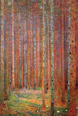 $ CDN13.72 • Buy KLIMT - PINE FOREST ART POSTER 24x36 - 3313