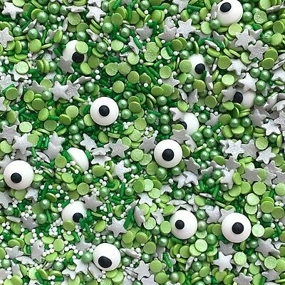 Aliens Toy Story Mike Monster Inc Inspired Mix Cupcake Sprinkles Toppers 50g • 3.30£