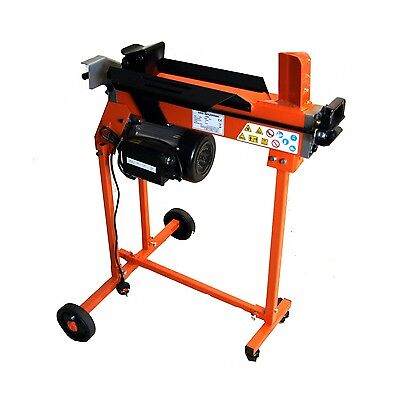 Fast Lightweight Compact 5 Ton Electric Hydraulic Log Splitter Trolley Stand • 278.49£
