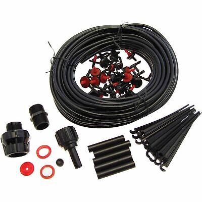 71pc Micro Irrigation System 23m Automatic Garden Watering Drip Kit Greenhouse • 8.99£